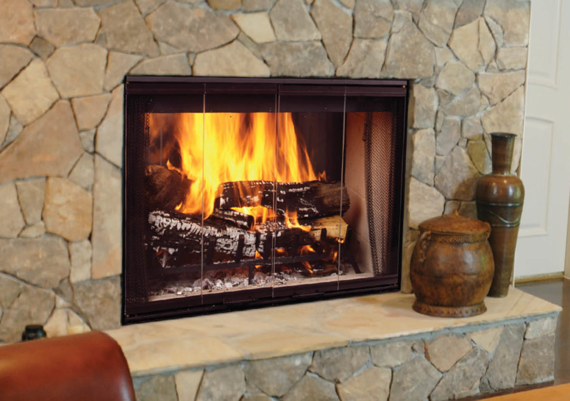 The Romance Of A Fireplace