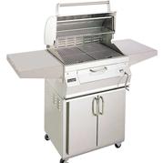 fire_magic_charcoal_barbeque_grill_cart_custom