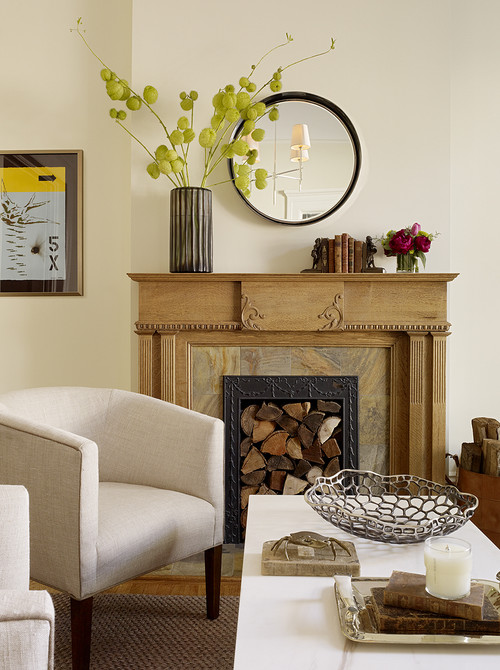 How To Decorate Your Fireplace When You Re Not Using It